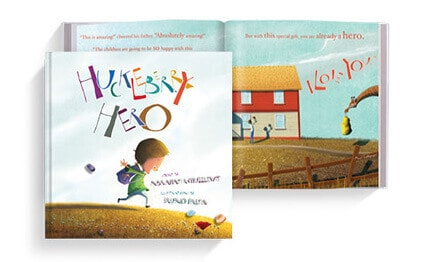 Kids Picture Book: Huckleberry Hero