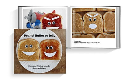 Self Published Children's Book: Peanut Butter or Jelly