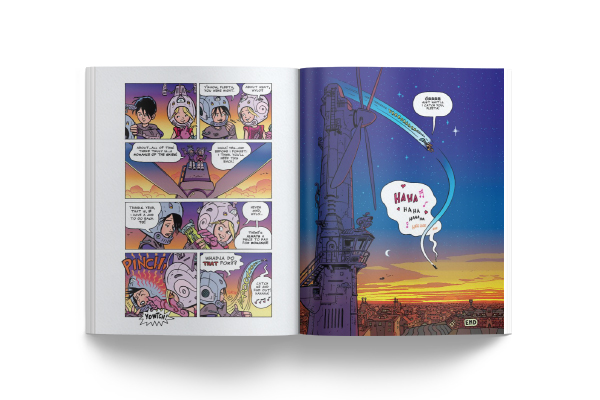 Graphic Novel - 4Story