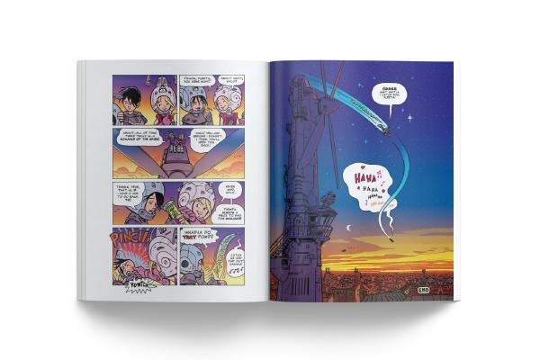 História em Quadrinhos - 4Story