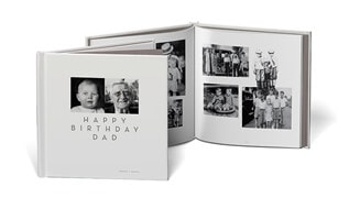 Happy Birthday Dad - Livre photo anniversaire