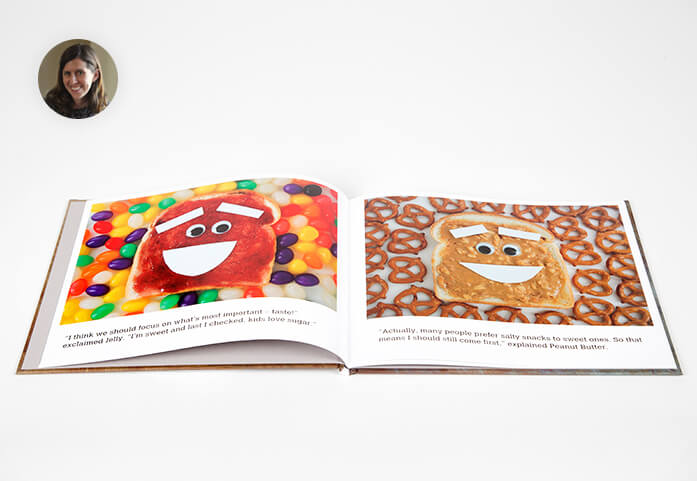 Kickstarter Books: Peanut Butter or Jelly: A Story About Taking Turns (Or Not)
