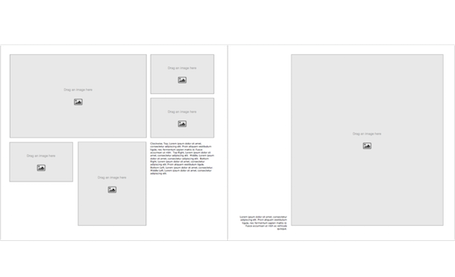 Family Book Template - Landscape