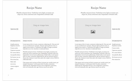 Cookbook Template - Portrait Basic