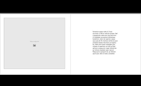 Portfolio Book Template - Landscape
