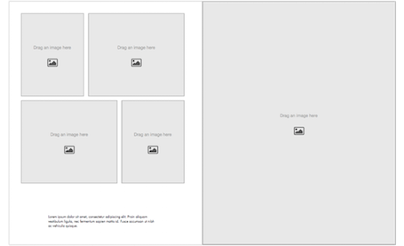 Portfolio Book Template - Portrait