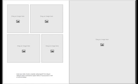 Portfolio-Vorlagen - Hochformat