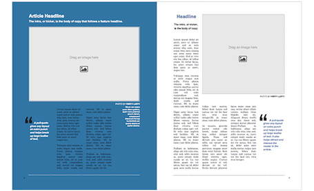 Make Print A Magazine Easy Magazine Creator Blurb