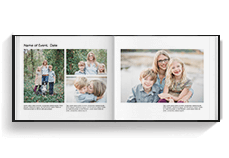 Family Photo Book - Landscape