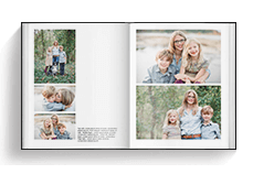Family Book Template - Portrait