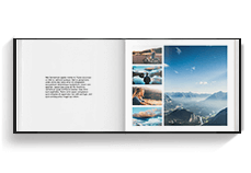 Travel Book Template - Landscape