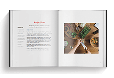 Cookbook Template - Portrait Neutral