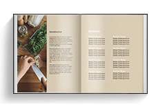 Cookbook Template - Portrait Chromatic