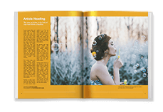 Magazine Template - Portrait Primary