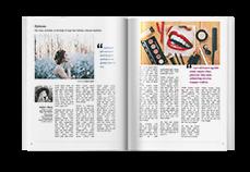 Magazine Template - Portrait Vibrant
