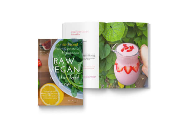 RAW VEGAN On The Fast Lane - Trade Book