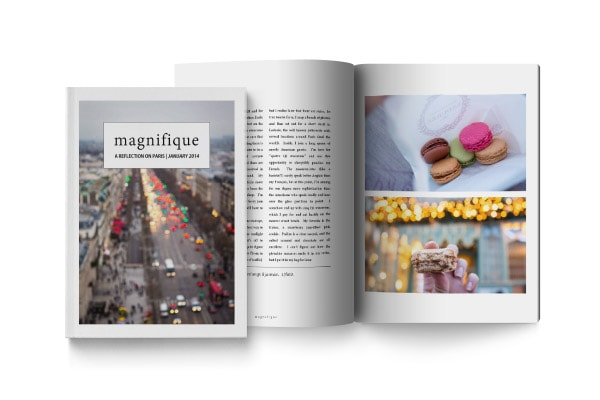 Magnifique Travel Photo Journal