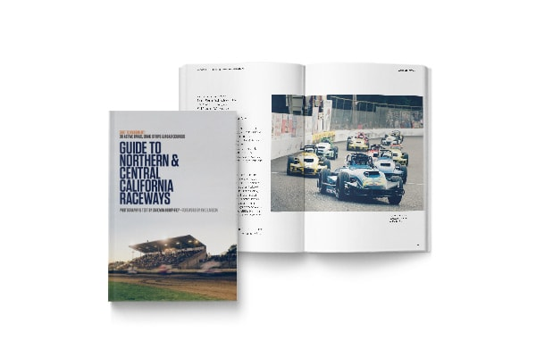 Guide to Northern & Central California Raceways Travel Photo Book